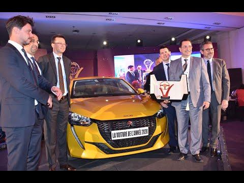Video : Trophées de l'automobile : Peugeot 208, sacrée Voiture de l'année 2020