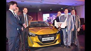 Trophées de l'automobile : Peugeot 208, sacrée Voiture de l'année 2020