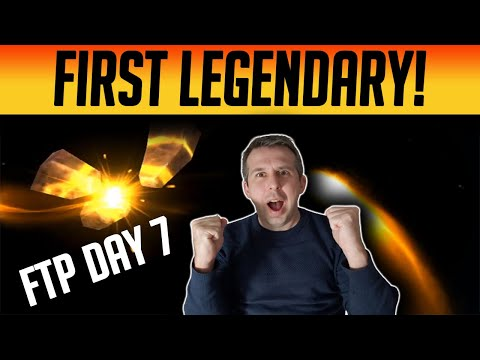 FTP Day 6-7 FIRST LEGENDARY SECURED! | Raid: Shadow Legends