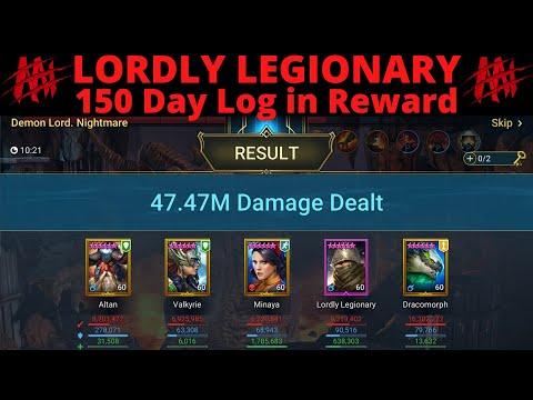 Lordly Legionary Daily Log In Reward! Raid Shadow Legends