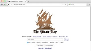 How to Find the REAL Pirate Bay Website on the Dark Web *Find Torrents Using Tor Browser*