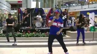 """CAN'T STOP THE FEELING!"" Cover by FSE Band LIVE at Eastridge Mall 6/11/16"