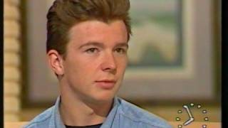 Rick Astley interview in 1987