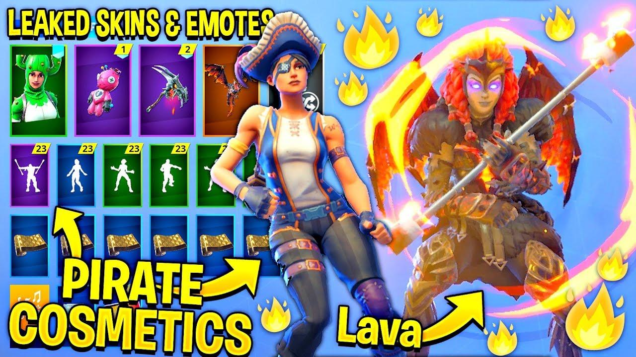 Download thumbnail for *NEW* All Leaked Fortnite Skins & Emotes
