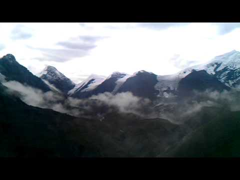 Nepal Trekking – Mountains Near Thorong La Pass 5416 Metres
