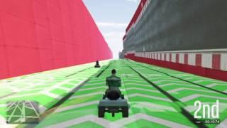 gta5 lawn mower race