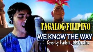 """We Know the Way Tagalog/Filipino Version - """"Alam Na Ang Daan"""" [MOANA Cover]"""