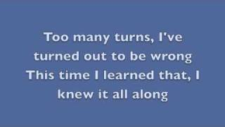 Forward Motion - Relient K (Lyrics)