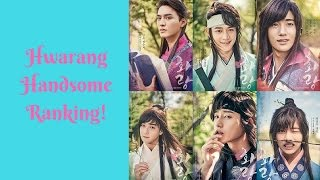 Hwarang Handsome Ranking