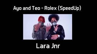 Ayo and Teo - Rolex (SpeedUp) (Audio)