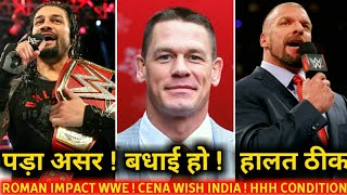 Roman Impact Backstage ! John Cena Wish india ! WWE RAW 5th November 2018 Highlights