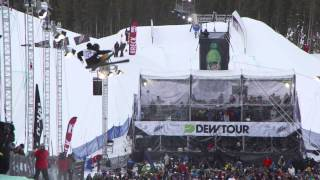 Dew Tour Men's Freeski Superpipe Final Highlights feat. Justin Dorey, Byron Wells