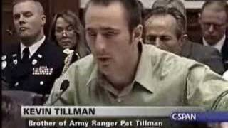 Kevin Tillman describes the attack on his brother's convoy