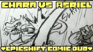 Chara vs Asriel [Epic!shift comic dub]