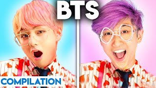 K-POP WITH ZERO BUDGET! (BEST OF BTS COMPILATION BY LANKYBOX)