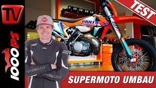 KTM 2-Takt Supermoto am Prüfstand - Wie viel Leistung?