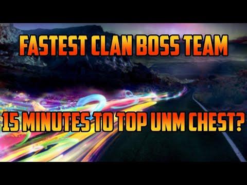 Fastest UNM Clan Boss Team I Raid Shadow Legends