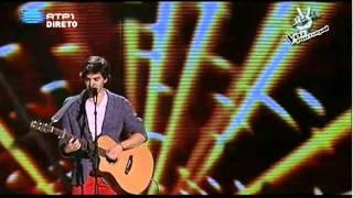 """2ª Gala A Voz de Portugal -- Pedro Poseiro -- """"Frágil"""", Jorge Palma"""