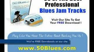 Blues Jazz Groove Backing Tracks -For Guitar,Harmonica,Harp
