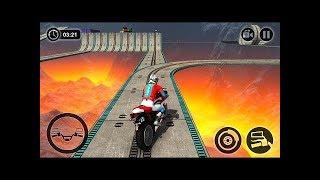 Impossible Moto Bike Tracks, Best Android Gameplay, Impossible Bike Stunts, New Motor Bike Unlocked