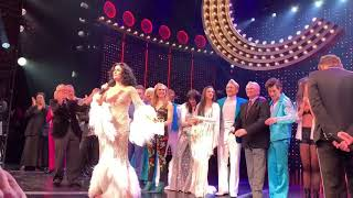 Cher sings If I Could Turn Back Time with Stephanie J. Block (1st row view)