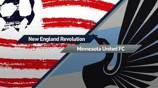 HIGHLIGHTS: New England Revolution vs. Minnesota United | March 25, 2017