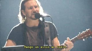 Pearl Jam - Lukin Slow - Subtitulado en español