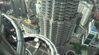 [HD] Petronas Twin Tower Skybridge (Lvl 41) & Observation Deck (Lvl 86) Visit