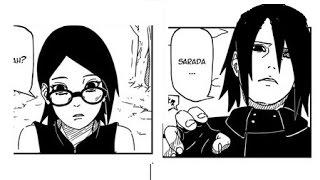 Sarada y Sasuke reencuentro!!