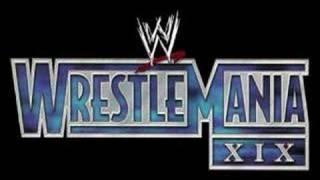 """WrestleMania XIX """"Crack Addict"""""""