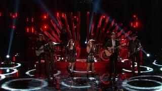 "The Voice US Live Final Performances - Alisan Porter, Kata Hay, Paxton Ingram ""Straight On"""