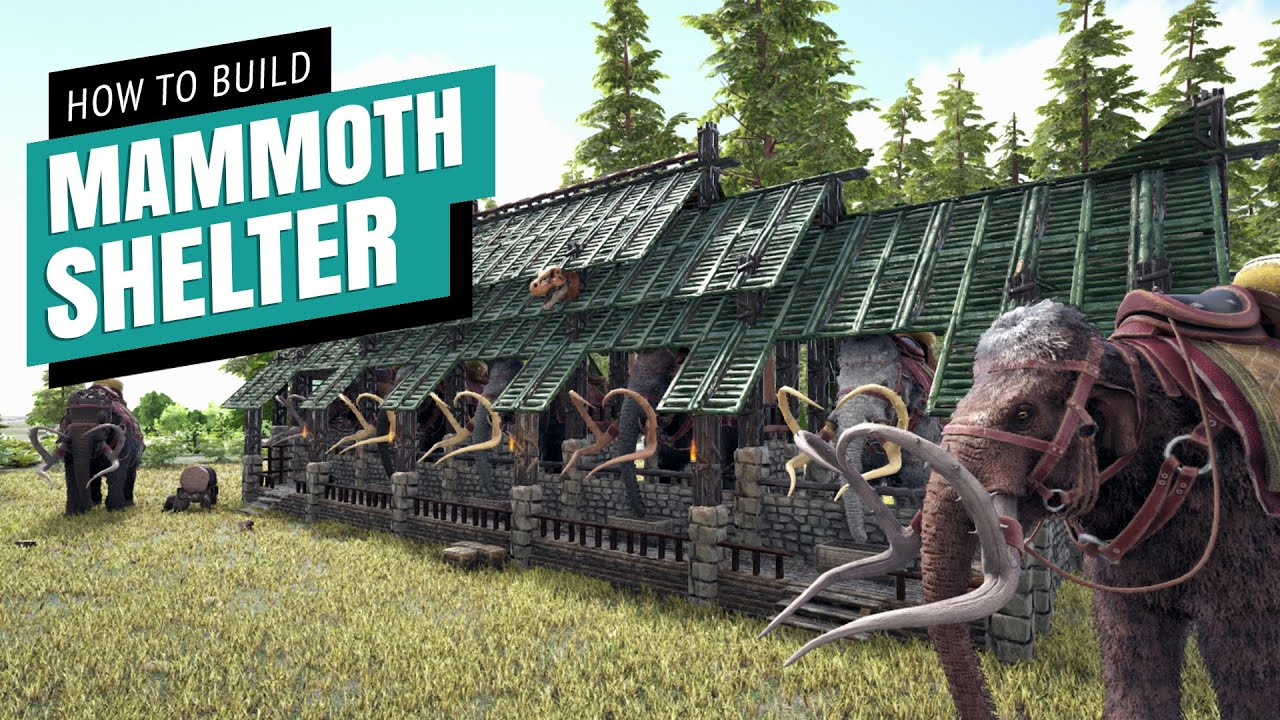 Aaron Longstaff - Ark: How To Build A Mammoth Shelter