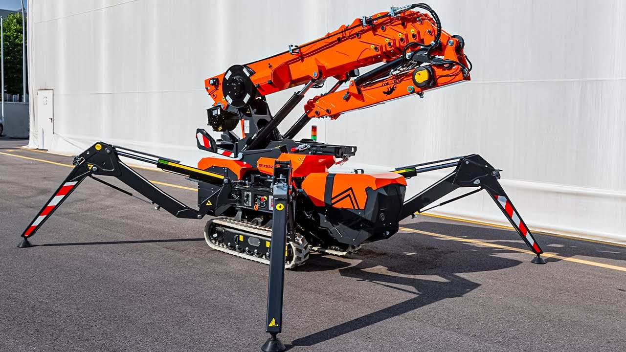 Amazing Modern Technologies and Incredible Equipment for Construction