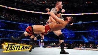 Randy Orton stuns Bobby Roode with a hard-hitting powerslam: WWE Fastlane 2018 (WWE Network)