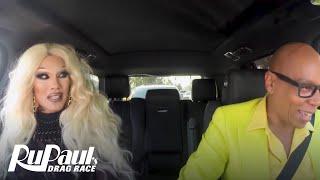 Drag Queen Carpool: Kimora Blac | RuPaul's Drag Race Season 9 | Now on VH1!