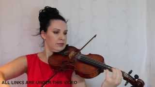 Lovers in the Moonlight | Violin Tutorial | for complete BEGINNERS