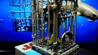 Jaws Revolving White Shark base VHS custom artwork -by:rkttkr