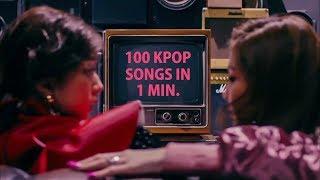 100 KPop Songs In 1 Min. | Girls Edition
