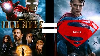 24 Reasons Batman v. Superman & Iron Man 2 Are the Same Movie