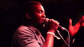 Jacob Banks - Homecoming - Sound City Liverpool - The Zanzibar - 4th May 2013