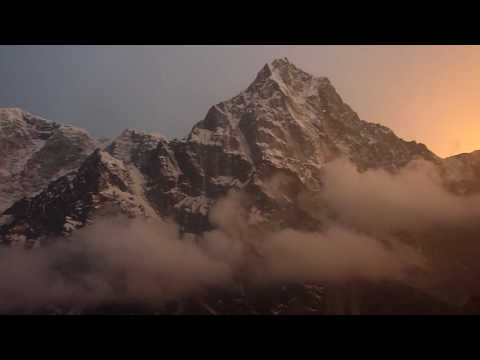Sunstone Adventures – 'Fire and Ice Sunset' Lobouche Peak Base Camp, Everest Region, Nepal.