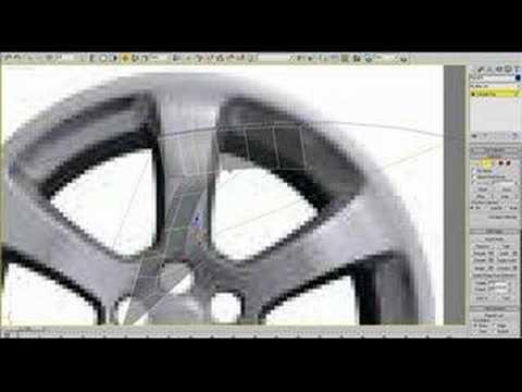3ds Max - Rim tutorial part 1 of 2
