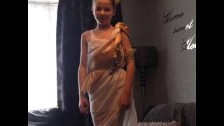How to make a tunic , Greek day