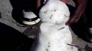Thugged out snowman singing Colt 45 by Afro man