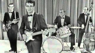 Buddy Holly & The Crickets - Peggy Sue (Sullivan 1957)