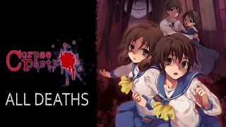 Corpse Party Tortured Souls all deaths ( in under 4 mins)