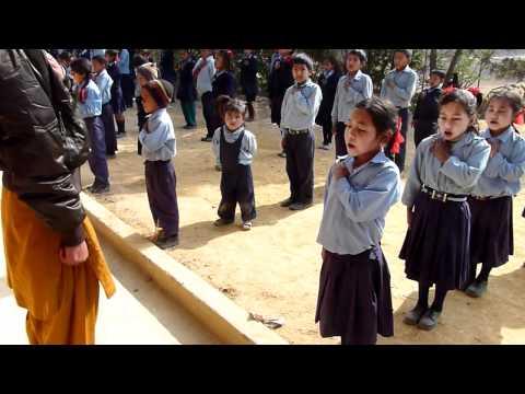 Nepali National Anthem (Nava Jyoti School)