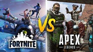 FORTNITE vs APEX!? | BASTA FARE LA GUERRA!