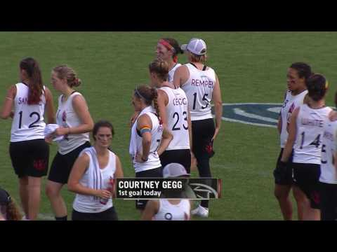Video Thumbnail: 2016 College Championships, Women's Semifinal: Stanford vs. Oregon