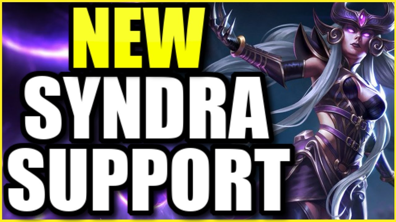 i0ki - SYNDRA IS THE *NEW* BROKEN SUPPORT IN SEASON 11 WITH THE NEW ITEMS!  INSANE POKE AND GODLY DAMAGE!